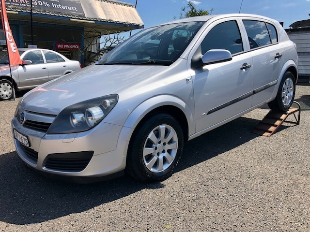 Holden Astra 5 door hatchback. -
