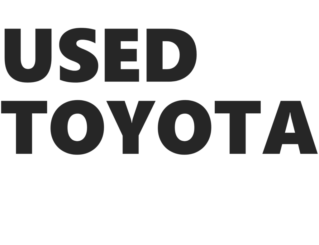 Used Toyotas For Sale in Newcastle - New Deal Autos